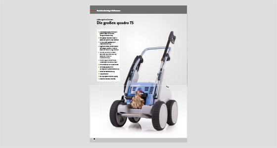 High-pressure cleaner Quadro 1000 TS